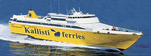 Kallisti Ferries - Corsica Express Three